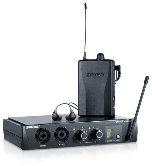 Shure PSM200 System With SE112