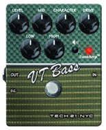 Tech 21 SansAmp Character Series - VT Bass (v2)