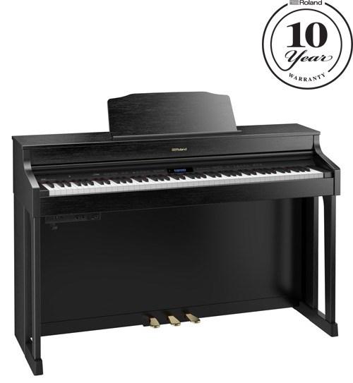 Roland HP-603CB Contemporary Black Digital Piano