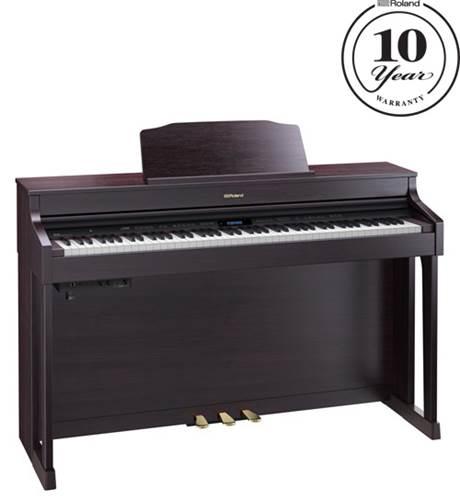 roland hp 603cr contemporary rosewood digital piano. Black Bedroom Furniture Sets. Home Design Ideas
