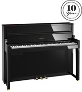 Roland LX-17PE Polished Ebony Digital Piano with Matching RPS-30 Stool