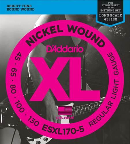 D'Addario ESXL170-5 Bass Strings