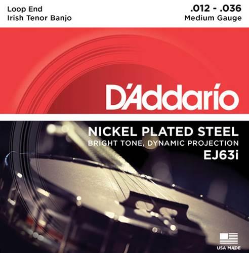 D'Addario EJ63i Irish Tenor Banjo Strings Nickel 9-30