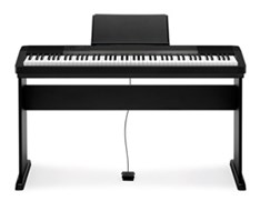 Casio CDP-130 Black Digital Piano with Stand