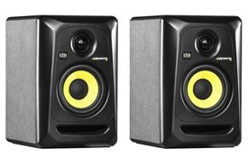 KrK RP4-G3 Black Active Monitor (Pair)