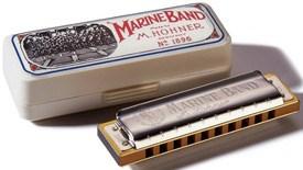 Hohner Marine Band Harmonica F
