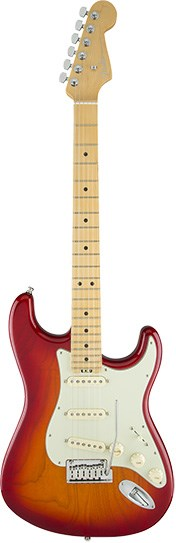 Fender American Elite Strat MN Aged Cherry Burst