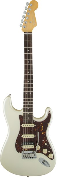 Fender American Elite Strat HSS Shawbucker RW Olympic Pearl