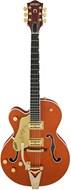 Gretsch G6120T-LH Nashville LH Bigsby Orange Stain