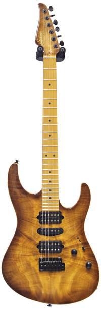 Suhr guitarguitar Select #58 Modern Natural Burst Burl Maple Roasted MN #28994