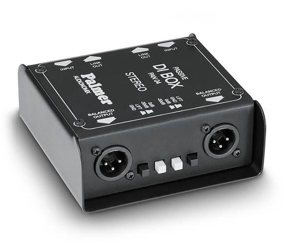 Palmer PAN 04 2 Channel Passive DI Box