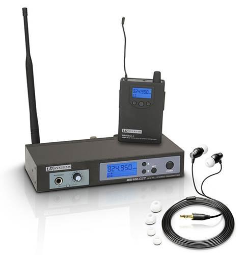 LD Systems MEI100 G2 IEM System 823 - 832MHz, 863 - 865MHz