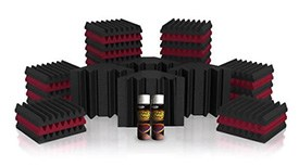 Universal Acoustics Mercury-2 Solar System Acoustic Treatment Kit  (Charcoal and Burgundy)