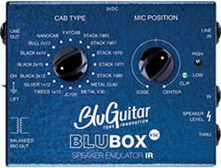 Blu Guitar BLUBOX Speaker Cab Emulator DI Box