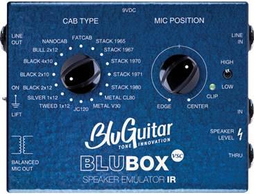 blu guitar blubox speaker cab emulator di box. Black Bedroom Furniture Sets. Home Design Ideas
