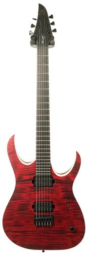 Mayones Duvell 6 Elite Trans Dirty Red Satin