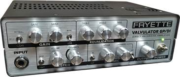 Fryette Valvulator Gp Di Desktop Recording Amplifier