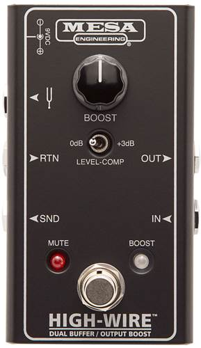 Mesa Boogie High-Wire Dual Buffer and Output Boost
