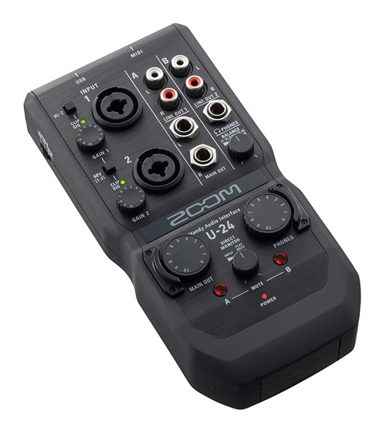 Zoom U-24 USB2 Audio Interface