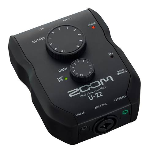 Zoom U-22 Audio Interface USB 2.0