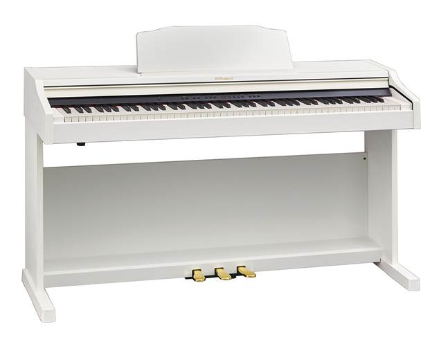 Roland RP501R-WH White Digital Piano
