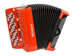 Roland FR-4XB-RD Button Version Digital Accordion