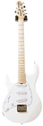 Music Man Silhouette Special LH SSS White MN