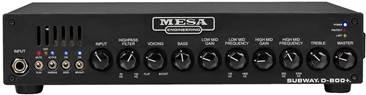 Mesa Boogie Subway D-800+ Bass Head