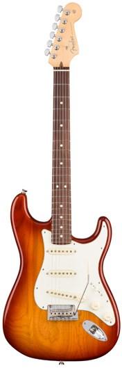 Fender American Pro Strat RW Sienna Sunburst Ash