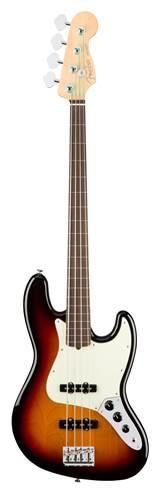 Fender American Pro Jazz Bass Fretless RW 3 Tone Sunburst