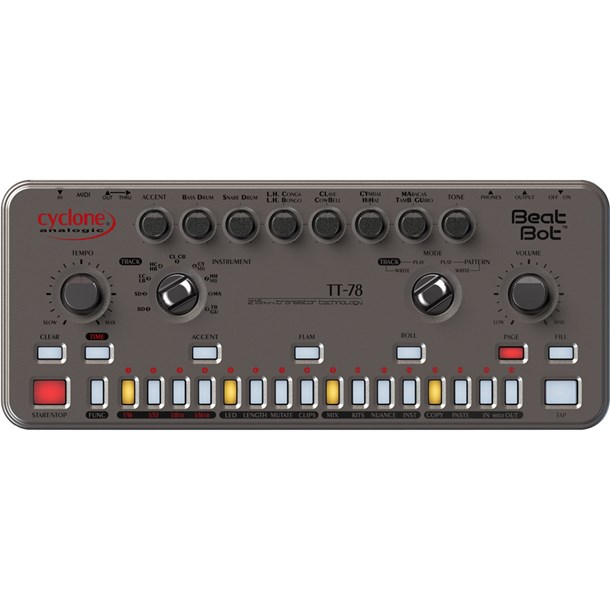 Cyclone Analogic TT-78 Beat Bot Analogue Drum Machine