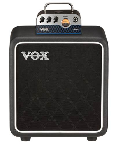 Vox MV50 Rock Head and Cab Set