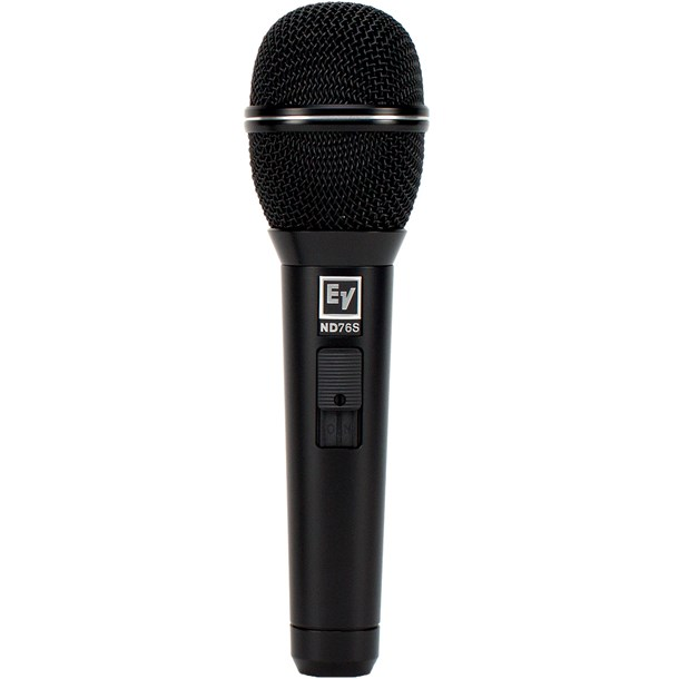 Electro Voice ND76S Cardioid Dynamic Vocal mic with Switch