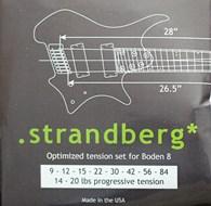 Strandberg Optimized Tension Strings for Boden 8 (5 Sets)