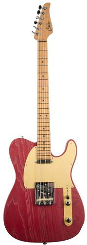 Suhr Andy Wood Signature Series Modern T, AW Red, T bridge, SS