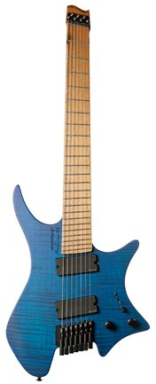Strandberg Boden OS 7 Special Edition Blue, Maple