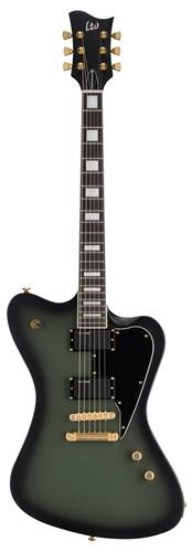 ESP LTD Sparrowhawk Military Green Sunburst Satin