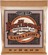 Ernie Ball 2150 Earthwood Acoustic Extra Light 10-50