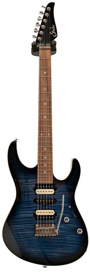 Suhr Guitar Guitar Select #87 Modern Trans Whale Blue Roasted MN