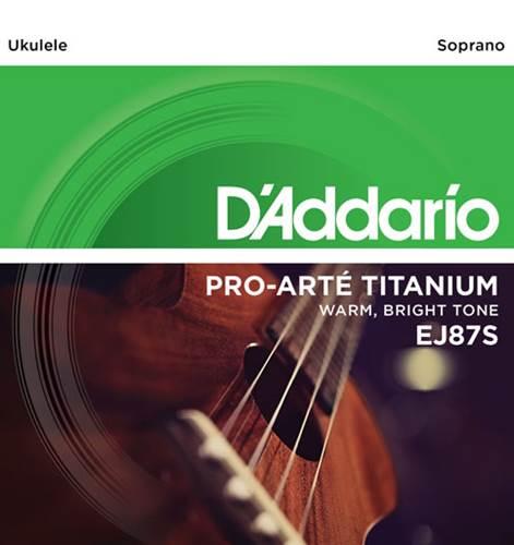 D'Addario EJ87S Soprano Ukulele Strings