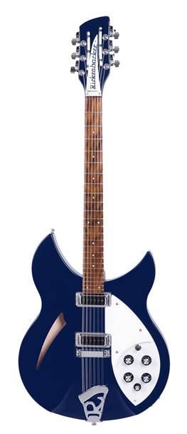 Rickenbacker 330/12 String Midnight Blue