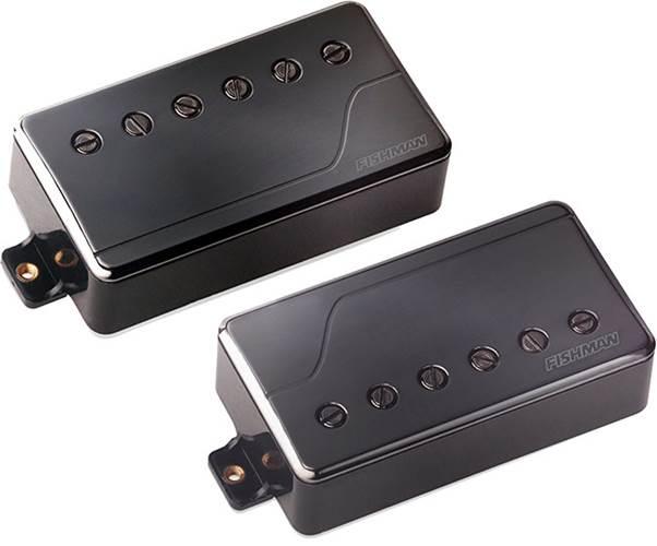 Fishman Fluence Multi Voice Pick Up - Classic Humbucker Set -Black