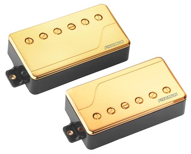 Fishman PRF-CHB-SG2 Fluence Multi Voice Pick Up Classic Humbucker Set Gold