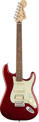 Fender Deluxe Strat HSS PF Candy Apple Red