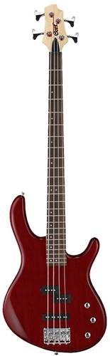 Cort Action PJ Bass Open Pore Black Cherry