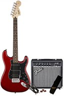 Squier Affinity Strat HSS Starter Pack Candy Apple Red