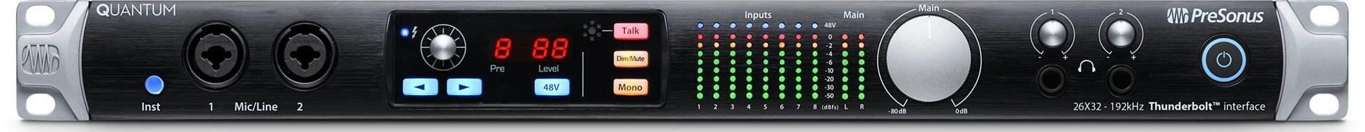 Presonus Quantum Thunderbolt Audio Interface