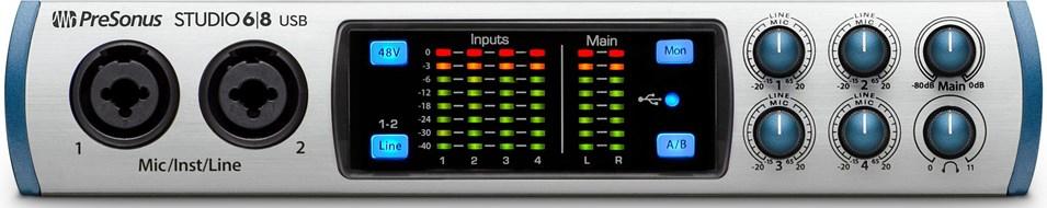 Presonus Studio 68 USB Interface