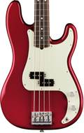 Fender American Pro P Bass Candy Apple Red RW