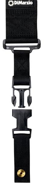 DiMarzio DD2200BK ClipLock Strap Nylon Black